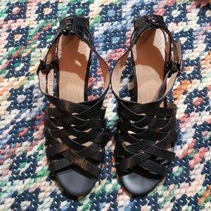 Circa Joan & David CJ Marvita sandal blk leather